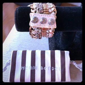 Henri Bendel deluxe girlfriend cuff bracelet